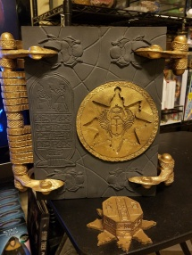 Book of the Dead as seen in The Mummy Movie